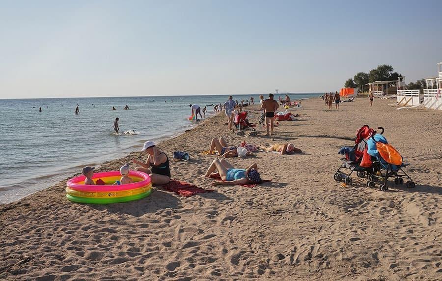 Заозерное пляж 2