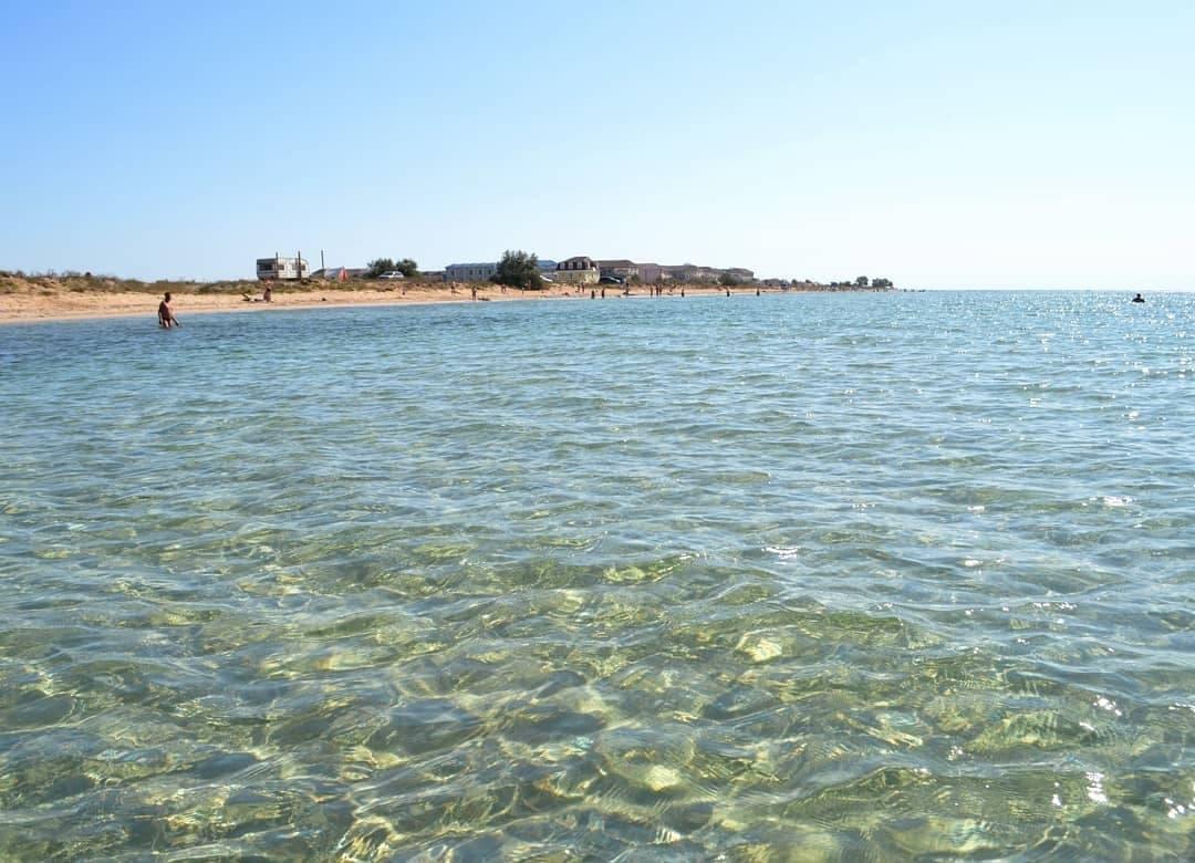 Заозерное пляж