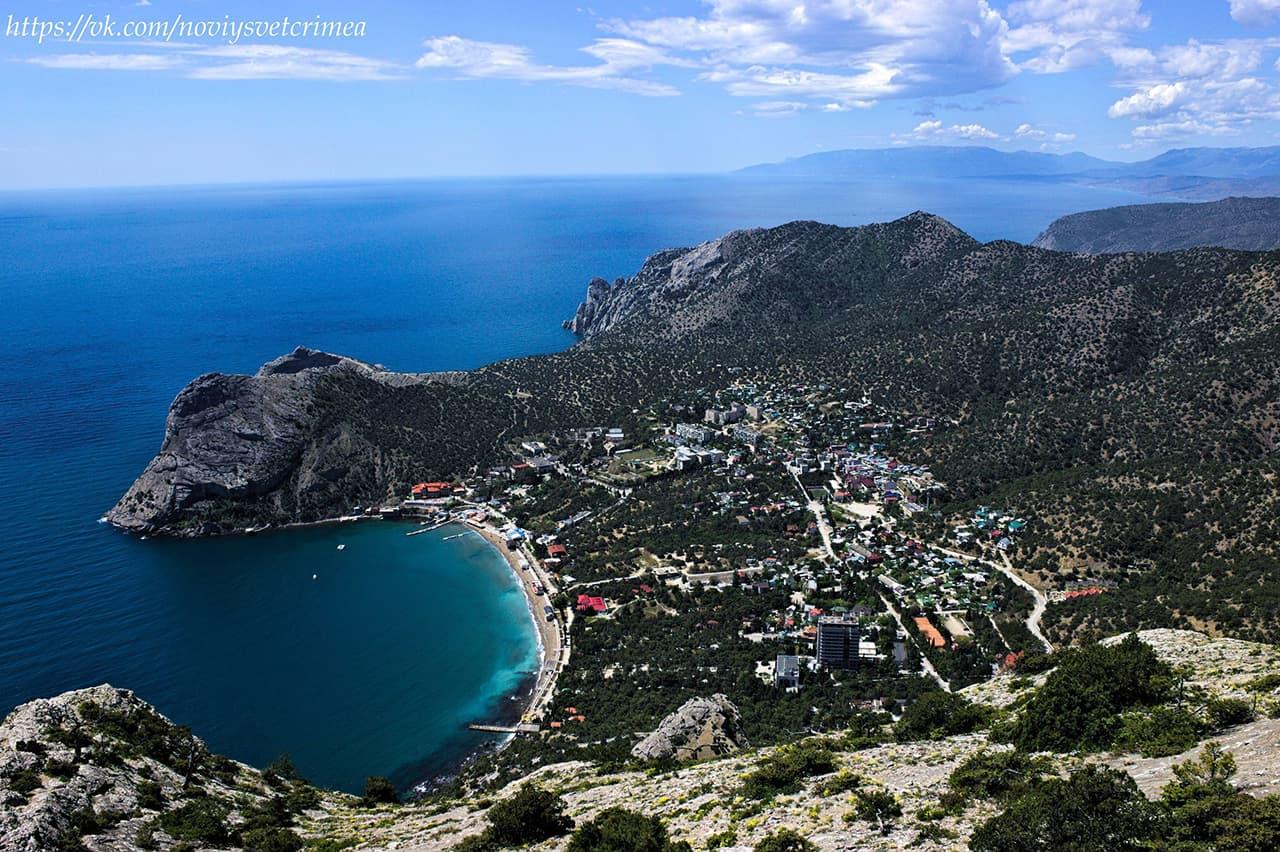Новый свет Крым